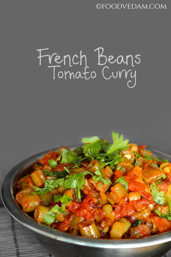 french beans tomato curry