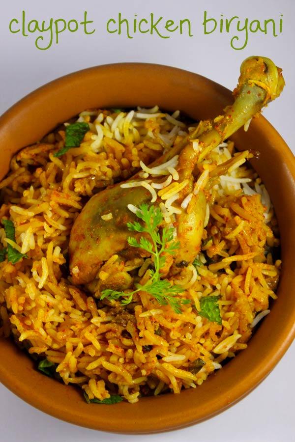 Chicken Pot Biryani Recipe Murgh Matka Biryani Foodvedam