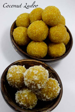 Coconut-laddoo