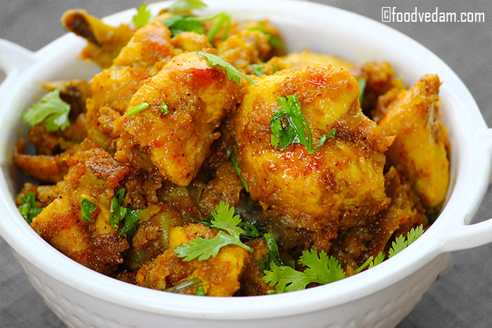 mango chicken fry
