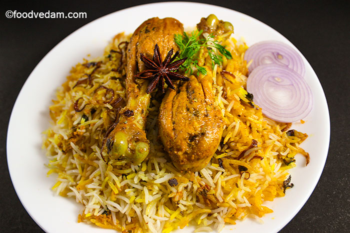 Hyderabadi chicken biryani how to make restaurant style chicken biryani chicken dum biryani recipe forumfinder Choice Image