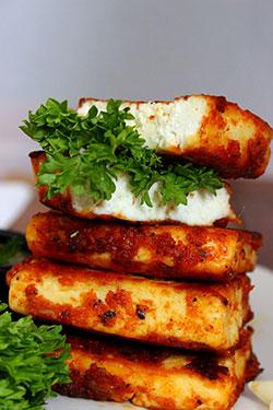 garlic paneer