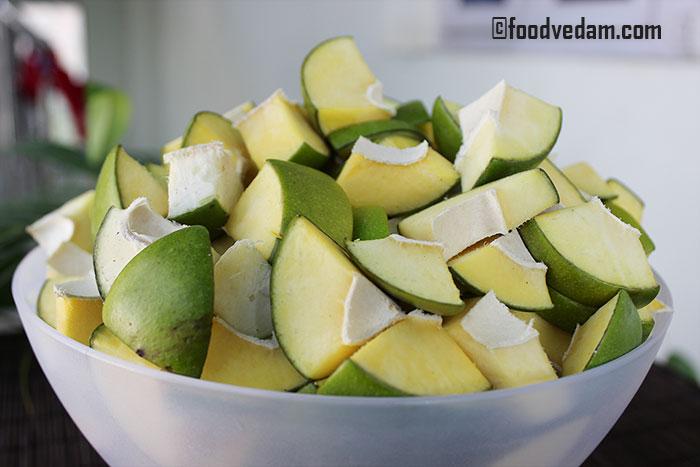 andhra mango pickle