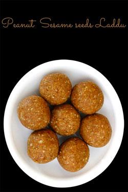 Peanut-and-sesame-seeds-laddoo
