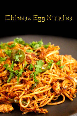 Chinese egg noodles street food – చైనీస్ ఎగ్ నూడుల్స్ తయారీ విధానం