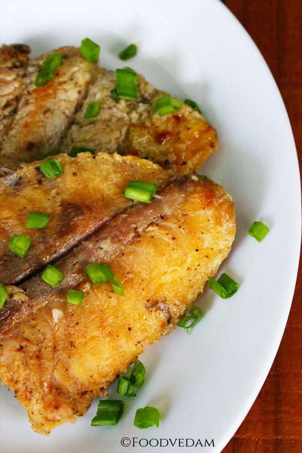 Garlic-fish