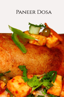 Paneer dosa recipe – dosa with cottage cheese filling