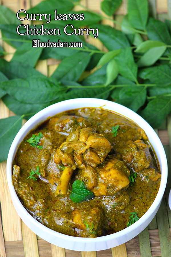 curry leaf chicken curry