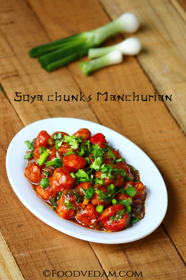 Soya-chunks-Manchurian