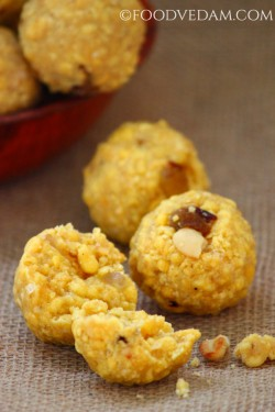 Boondi ladoo – how to prepare Boondi ladoo recipe