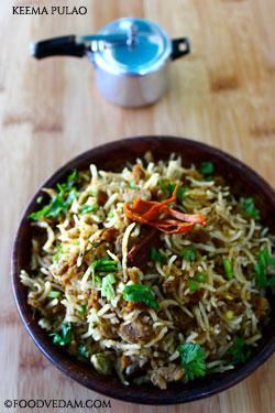 keema pulao – how to prepare pulao with minced meat pulao