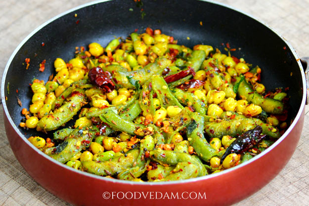 broad beans fry