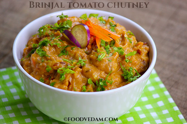 vankaya tomato chutney