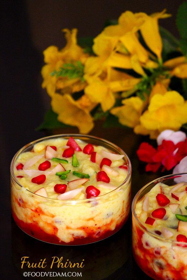 fruit phirni