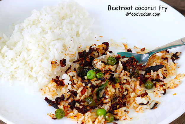 beetroot fry