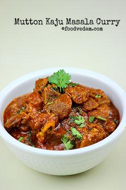 mutton kaju masala
