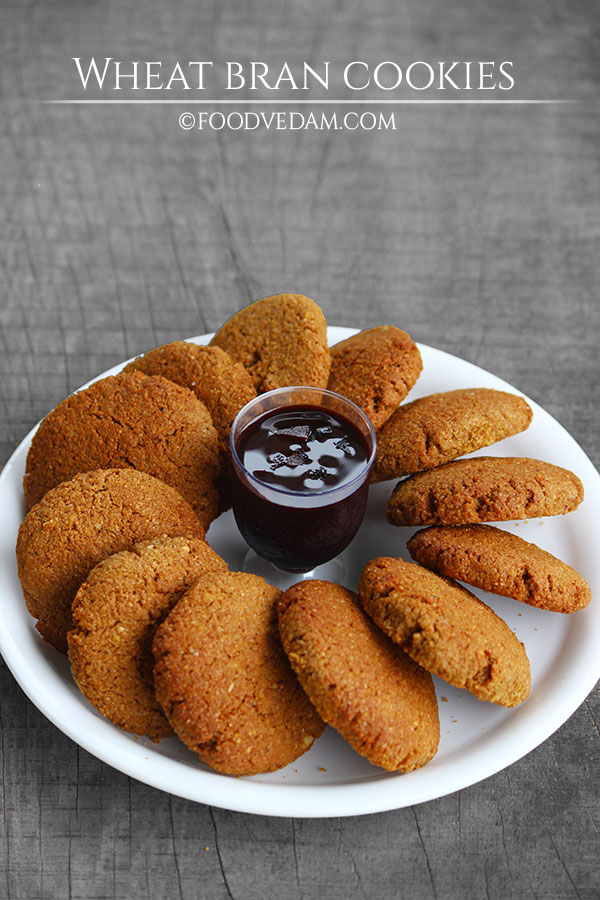 wheat bran cookies