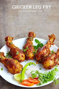chicken leg fry