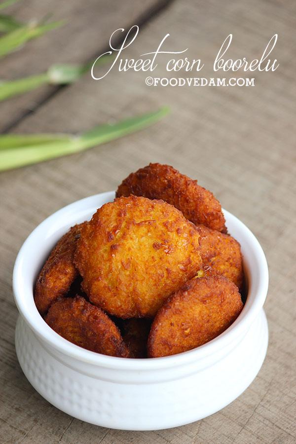 sweet corn boorelu