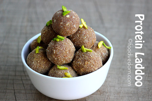 protein laddoo