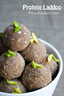 Protein Laddoo – healthy and tasty kids snack recipe