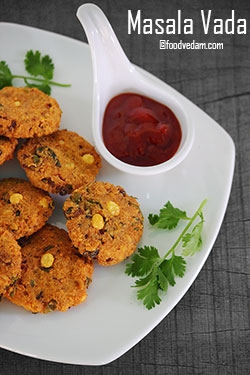 Masala Vada Recipe – How to make Chanadal vada?