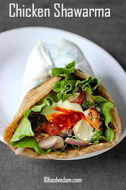chicken shawarma recipe