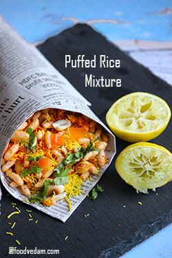 Puffed Rice Mixture Recipe