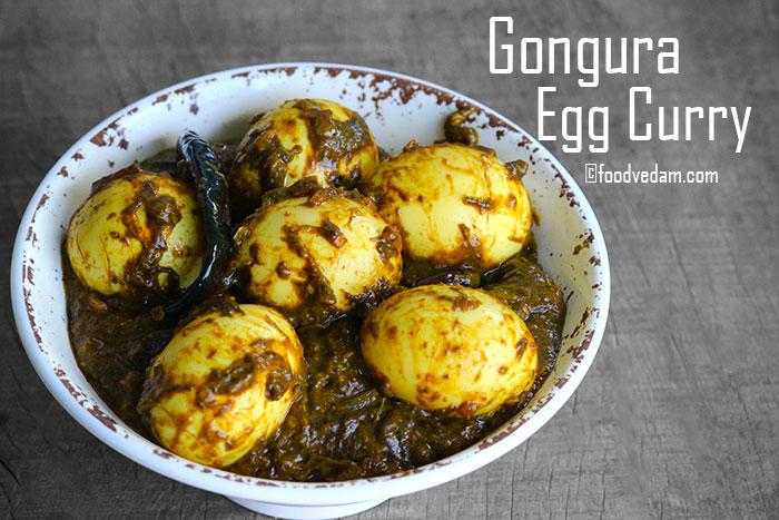 gongura egg curry recipe